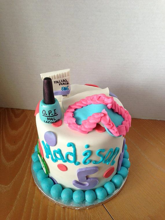 13 Spa Party Cakes Photo Spa Birthday Party Cake Ideas Spa Party