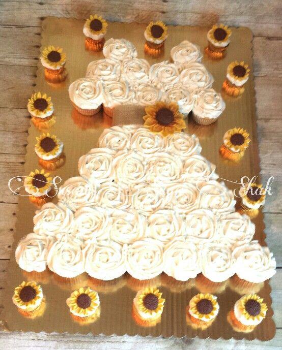 Best Cupcake Wedding Dress Cakes Images - Styles & Ideas 2018 ...