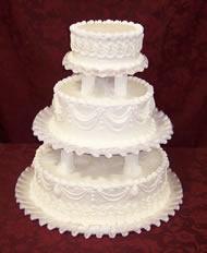 9 Wedding Cakes Buttercream Or Whipped Cream Photo - Wedding Cake ...