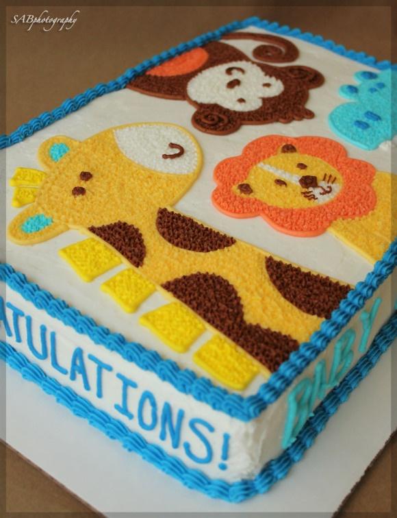 6 Blue Zoo Baby Shower Cakes Photo Boy Baby Shower Diaper Cake