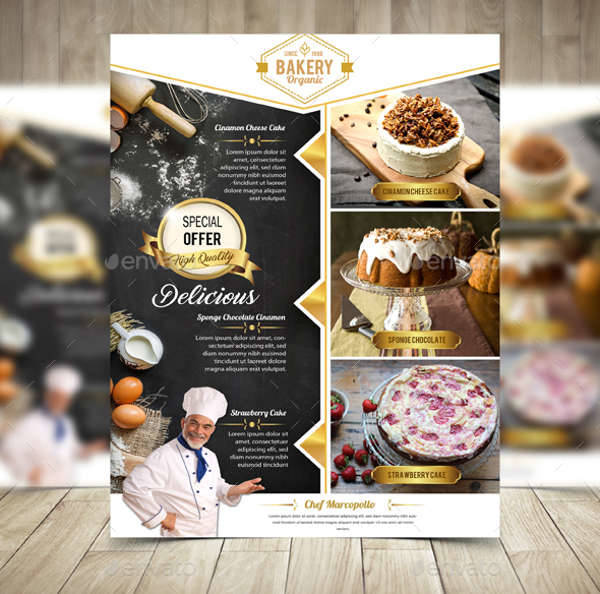 Bakery Flyer Templates Free Doritrcatodos
