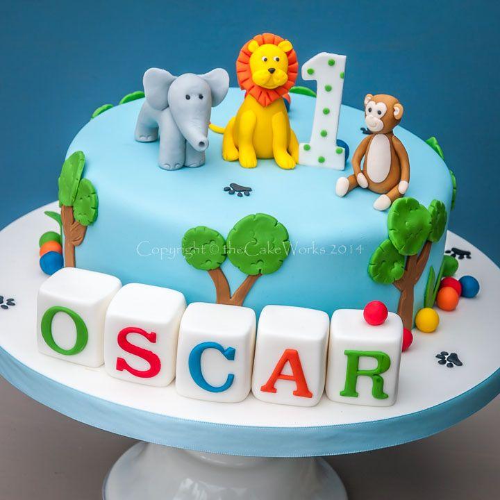 Marvelous 12 Elie Birthday Cakes For Boys 1St Year Photo First Birthday Funny Birthday Cards Online Overcheapnameinfo