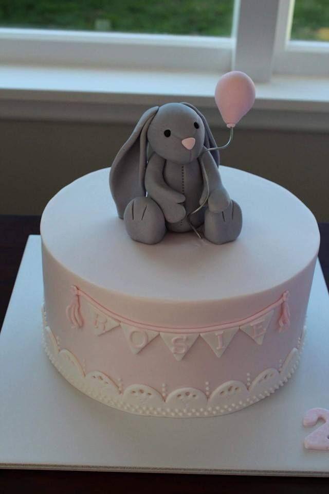 11 Rabbit Birthday Cakes With Icing Photo Bunny Rabbit Birthday