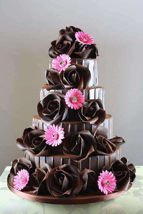 11 Pretty Decorated Chocolate Cakes Photo Chocolate Raspberry