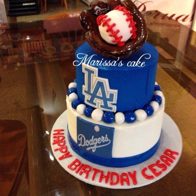 12 LA Dodgers Stadium Birthday Cakes Photo