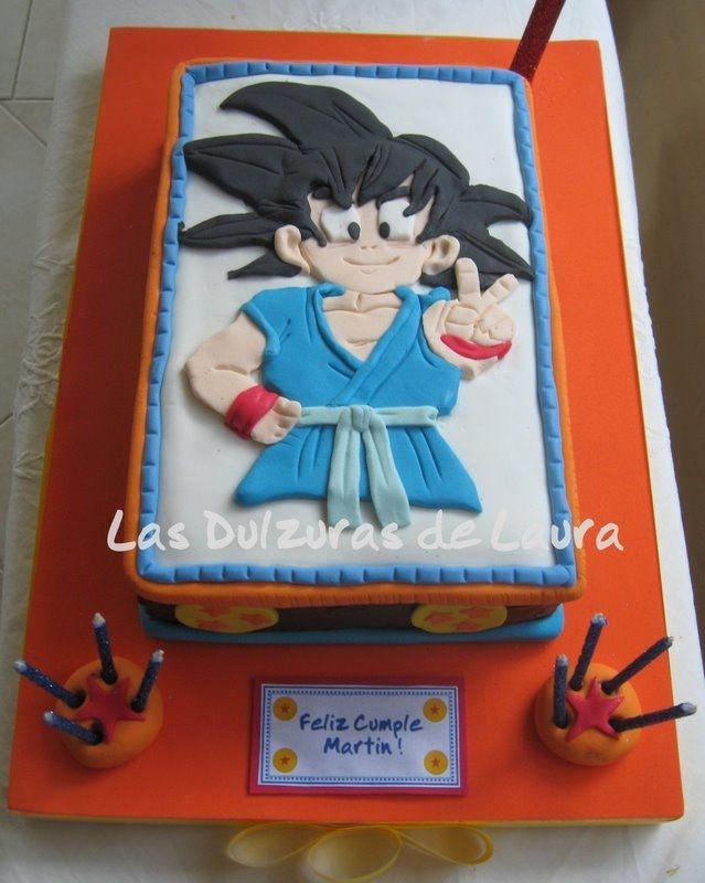 11 Dragon Ball Z Sign Cakes Photo Dragon Ball Z Birthday Cake