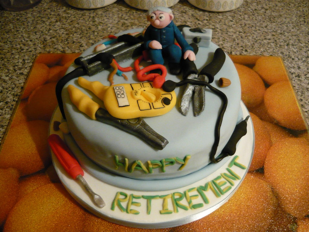 13 Electrician Retirement Cakes Photo Electrician Retirement Cake
