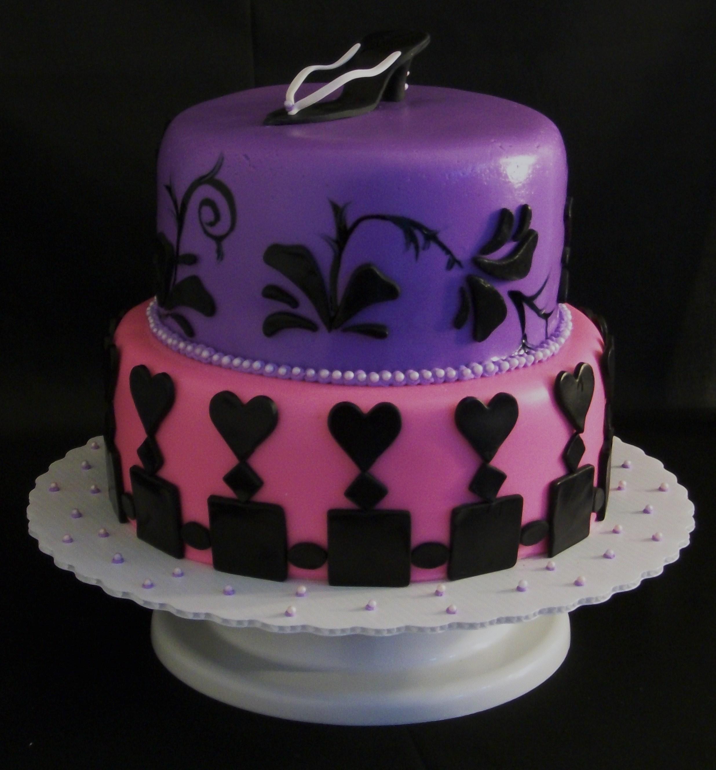 11 Purple Cakes For Girls Girls Purple Birthday Cake Girls