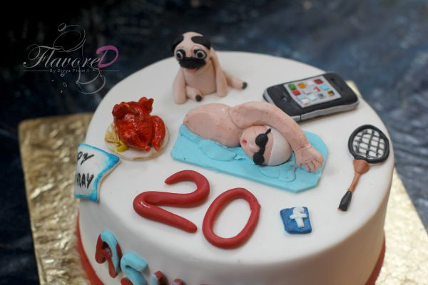 Miraculous 8 Happy 20Th Birthday Cakes For Males Photo 20Th Birthday Cake Personalised Birthday Cards Veneteletsinfo