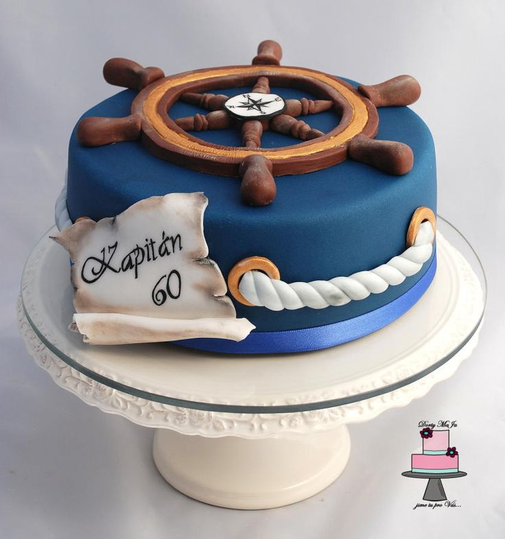 10 Cakes For Men Nautica Photo Nautical Themed Birthday Cake 30th