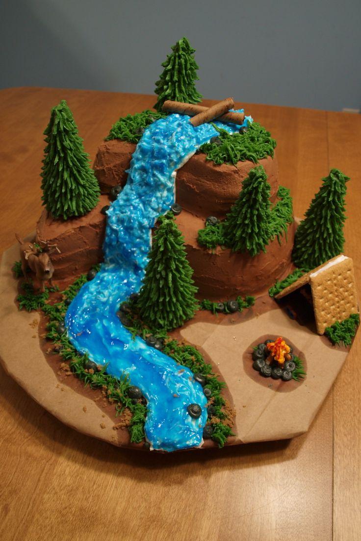 8 Outdoor Type Birthday Cakes Photo Hunting Birthday Cake Outdoor