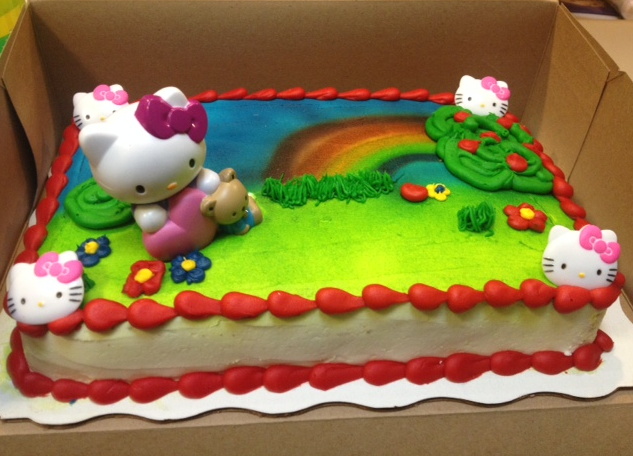 Kroger Bakery Birthday Cakes Hello Kitty