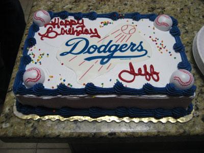 Strange 12 La Dodgers Stadium Birthday Cakes Photo La Dodgers Birthday Funny Birthday Cards Online Benoljebrpdamsfinfo