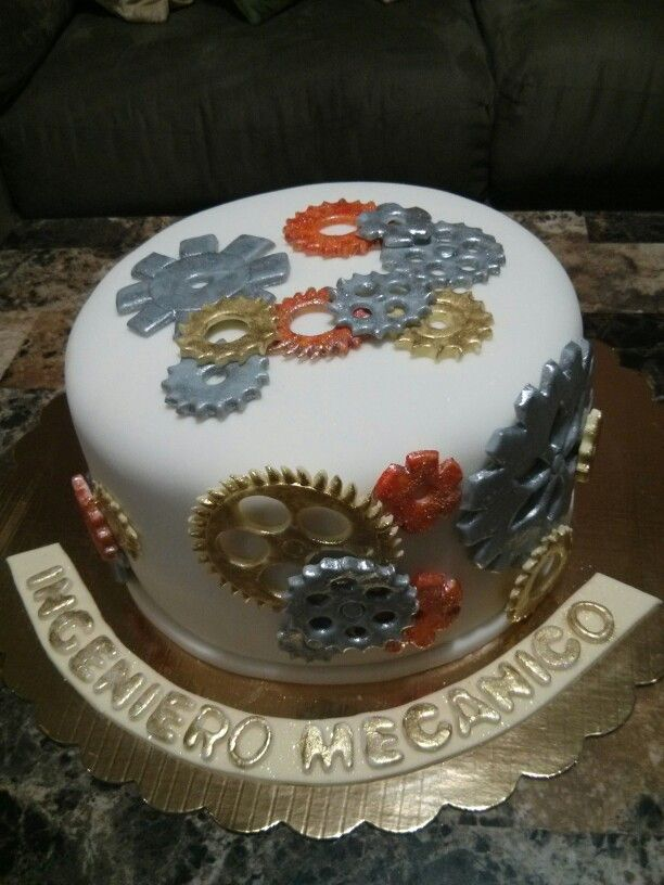 13 Engineering Mechanical Themed Cakes Photo - Mechanical ...