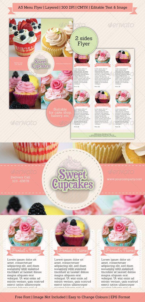 Bakery Brochure Template Roho4senses