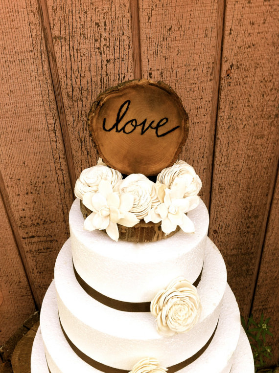 8 Engagement Rustic Country Cakes Photo - Rustic Country Wedding ...