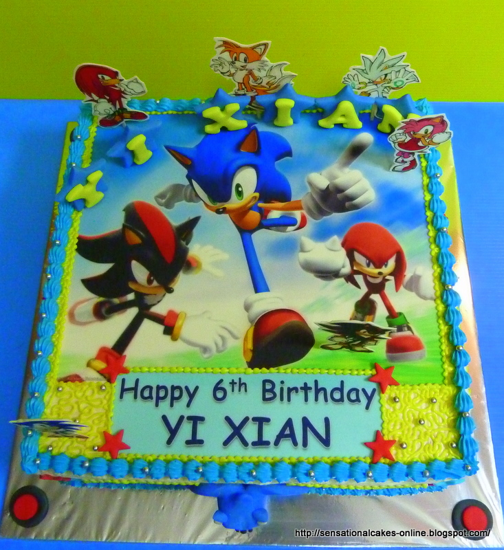 9 Silver The Hedgehog Cakes Decorated Photo Sonic Hedgehog