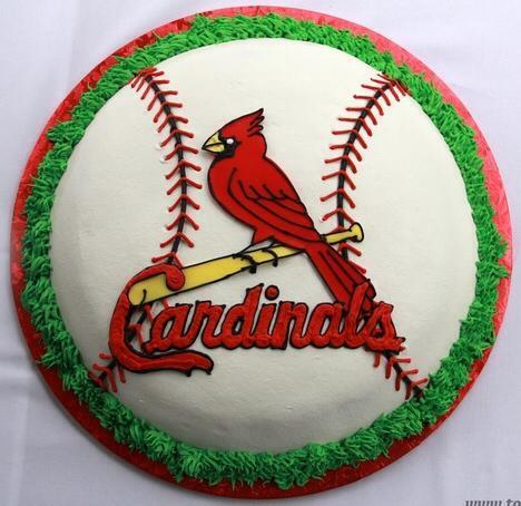 Peachy 9 Stl Cardinals Decorated Cakes Photo St Louis Cardinals Funny Birthday Cards Online Fluifree Goldxyz