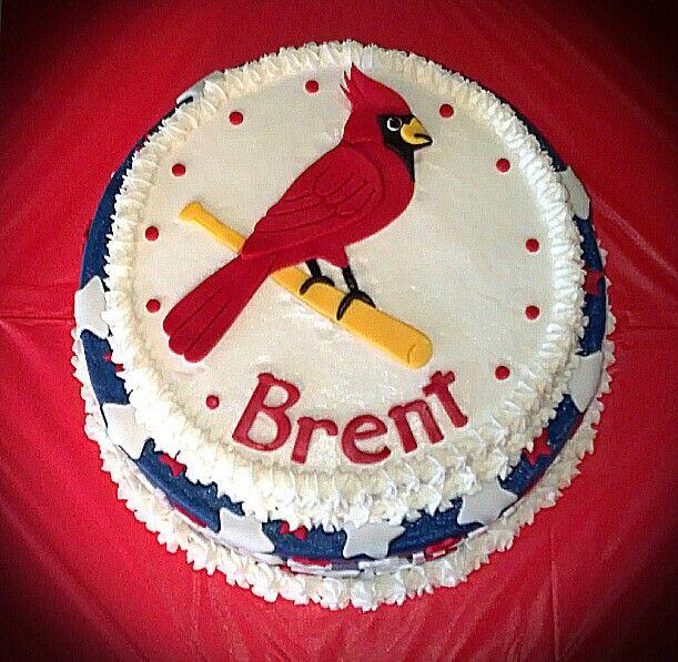 9 Stl Cardinals Decorated Cakes Photo St Louis Cardinals Birthday