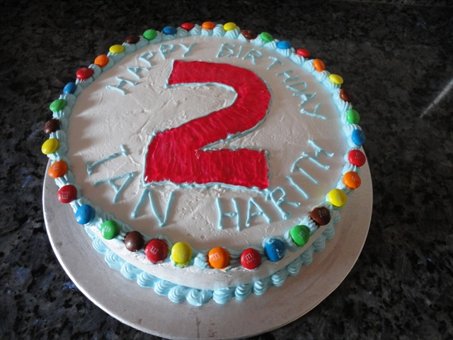 12 Birthday Cakes For 2 Yr Old Boys Photo Year Boy
