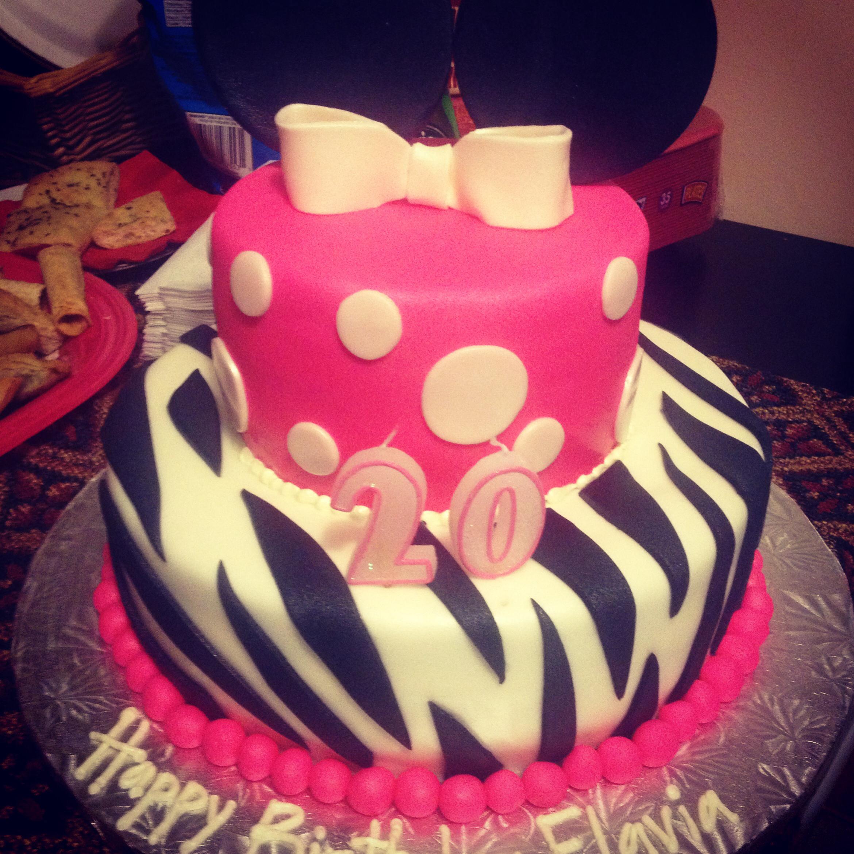 10 Simple Girl Birthday Cakes 20th Photo