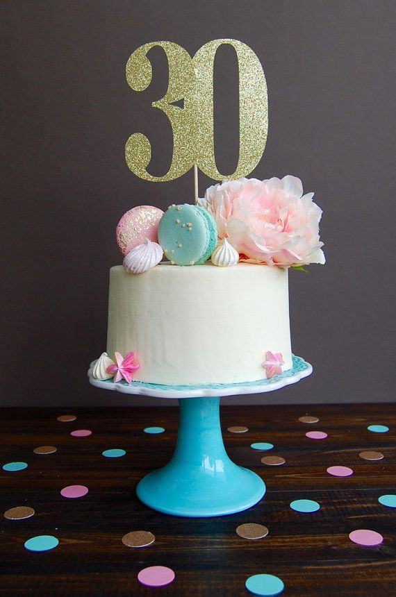 30th Birthday Cake Idea