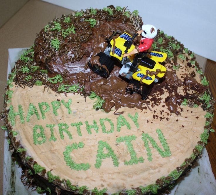 8 Muddin Cakes For Boys Photo Mud Riding Birthday Cake 16th