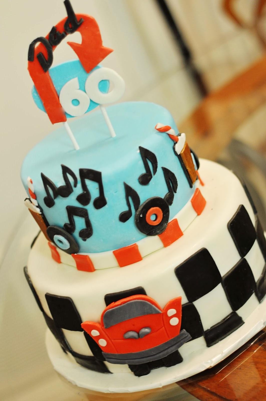 50 Theme Birthday Cake