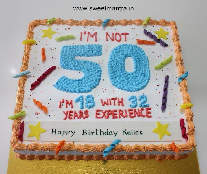 11 Happy 50th Birthday Sheet Cakes For Men Photo Happy 50th