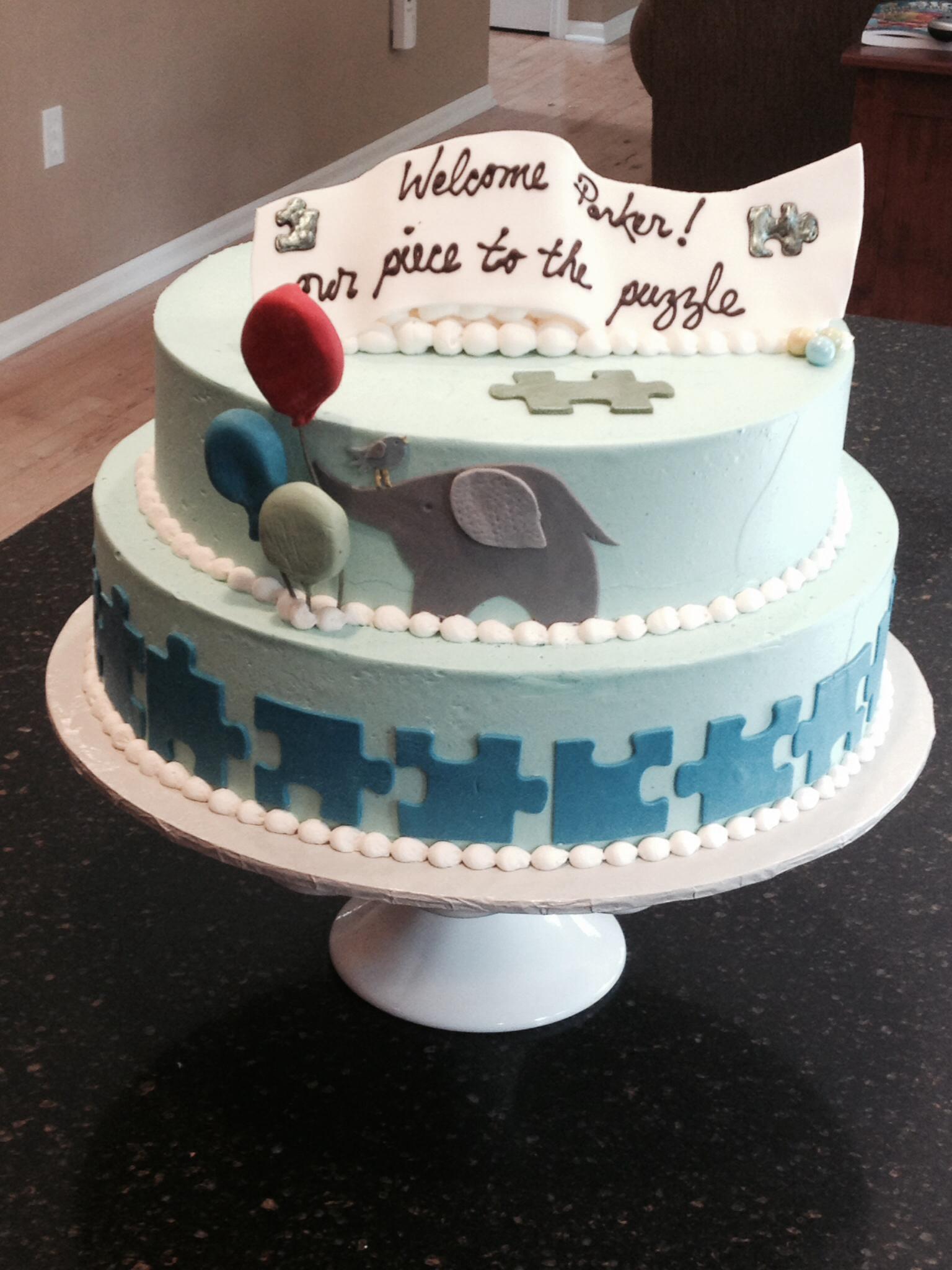 Adoption Party Cake Ideas