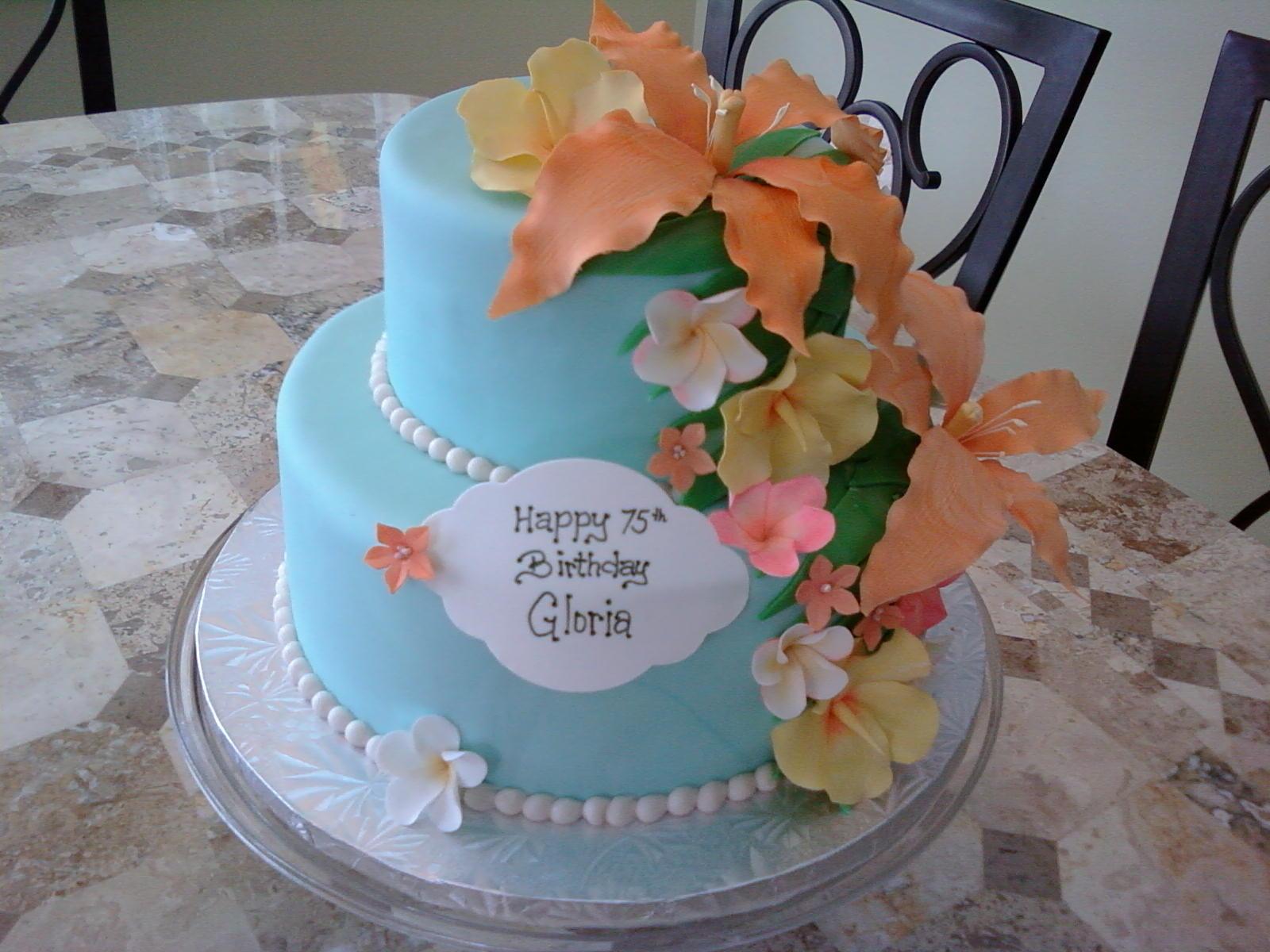 11 Luau Birthday Cakes For Adults Photo Adult Luau Birthday Cake