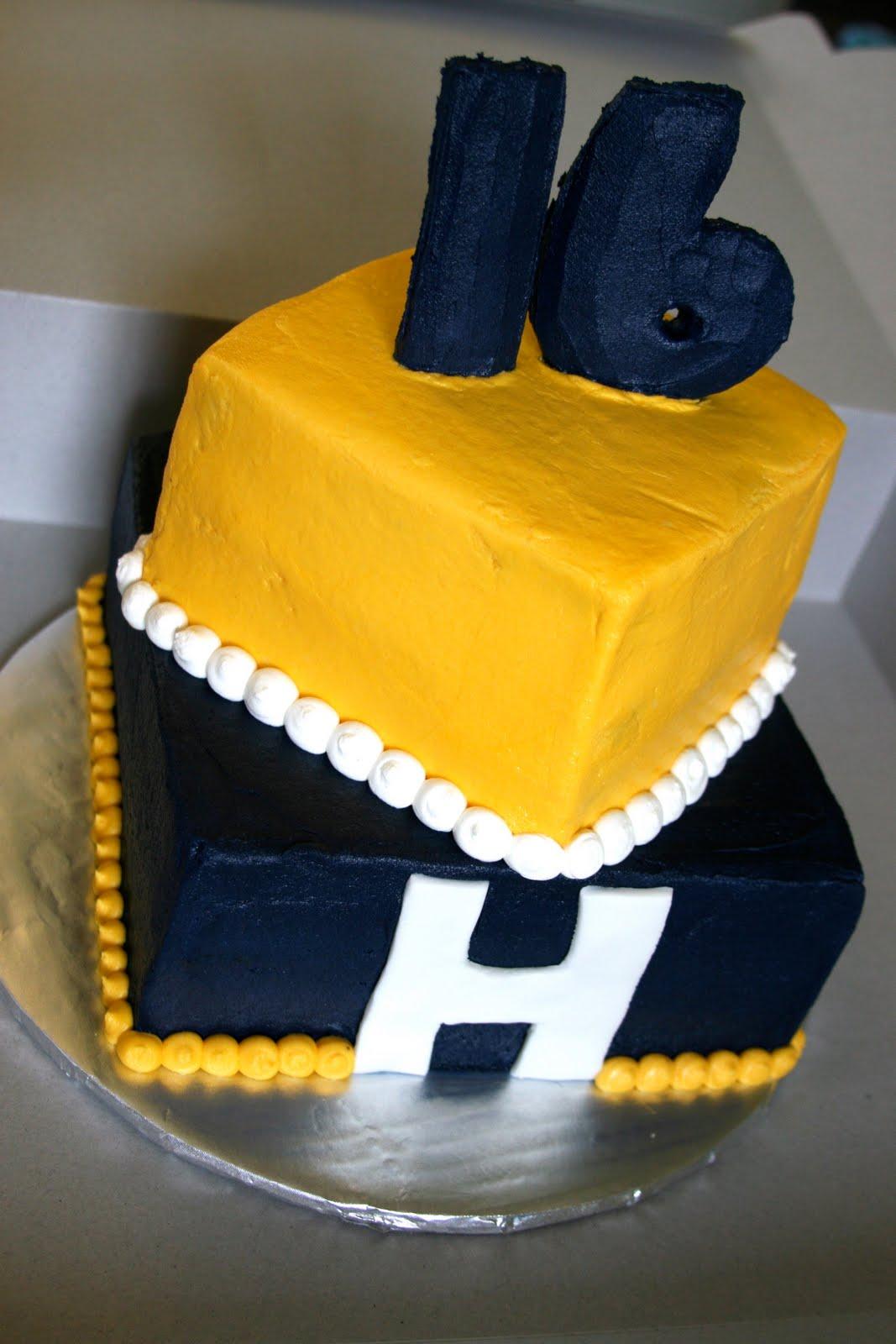 Birthday Cake Via 8 Year Old Boy
