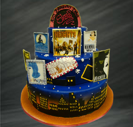 Enjoyable 7 Best Custom Cakes New York Photo Broadway Themed Birthday Funny Birthday Cards Online Eattedamsfinfo