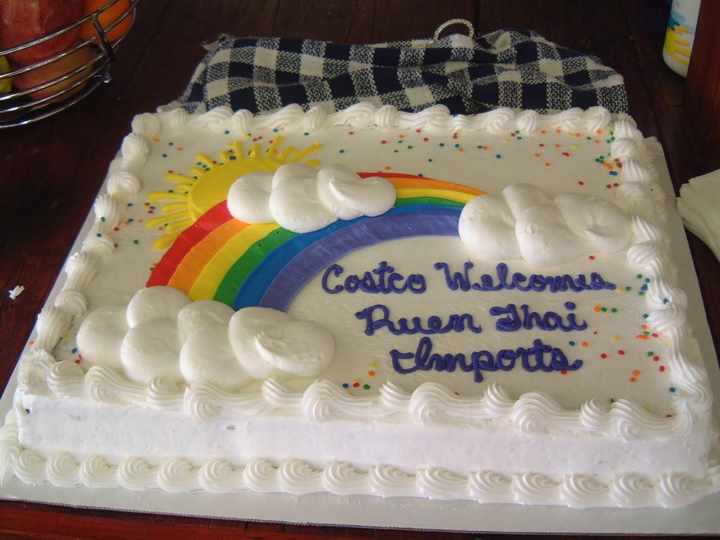 Costco Bakery Full Sheet Cake