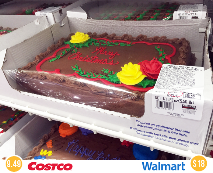 How Much Is A Quarter Sheet Cake At Costco