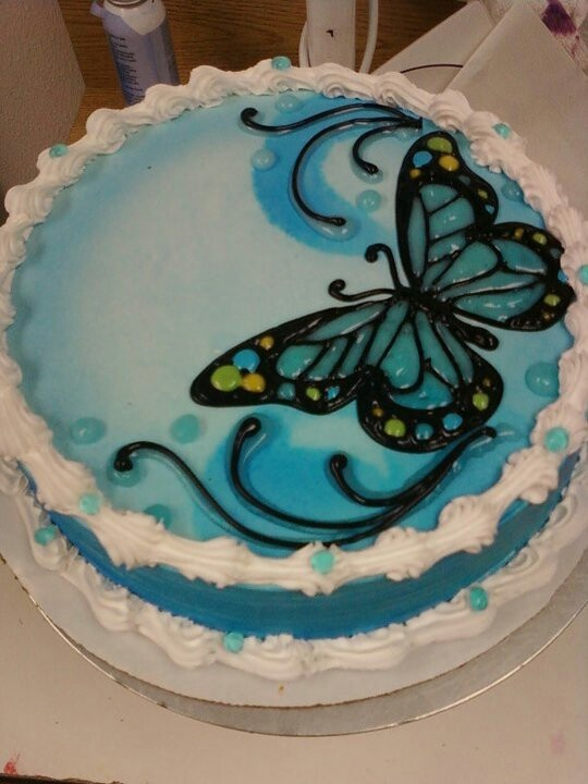 8 DQ Chocolate Cakes Photo - Dairy Queen Ice Cream Cake