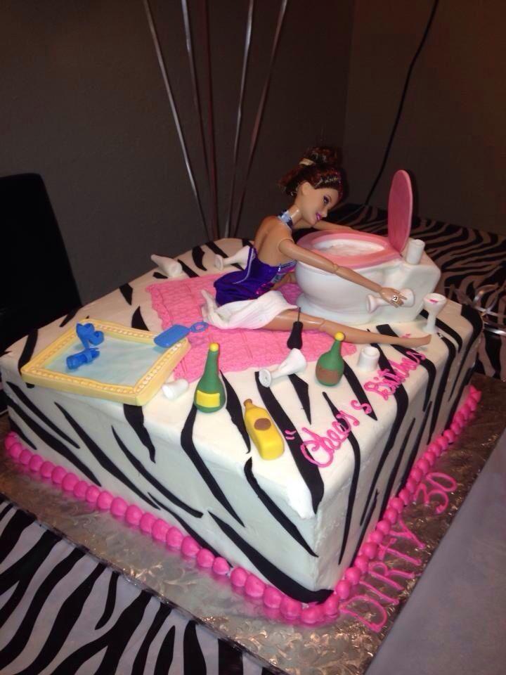 Dirty Thirty Birthday Cake Ideas