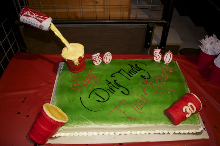 Awe Inspiring 11 Dirty Thirty Birthday Cakes For Men Photo Dirty Thirty Funny Birthday Cards Online Hetedamsfinfo