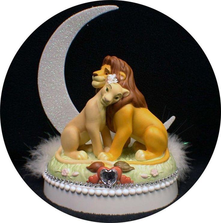 Disney Lion King Wedding Cake
