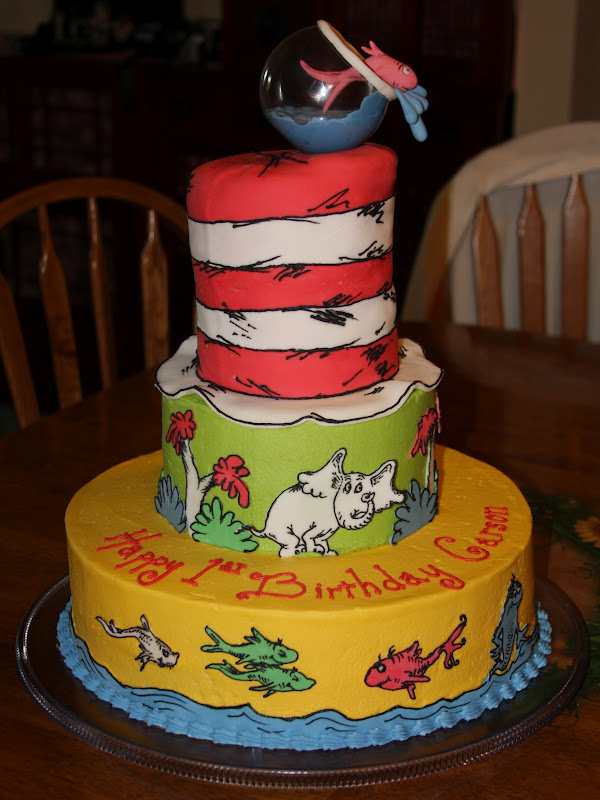 Awesome 12 Dr Suss Cakes Photo Dr Seuss Cake Dr Seuss Birthday Cake Funny Birthday Cards Online Aboleapandamsfinfo