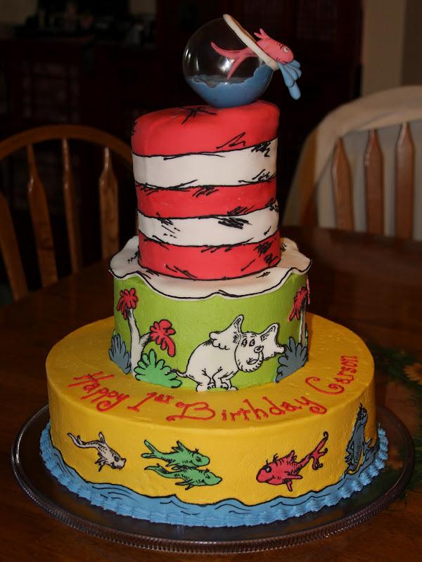 Incredible 12 Dr Suss Cakes Photo Dr Seuss Cake Dr Seuss Birthday Cake Funny Birthday Cards Online Sheoxdamsfinfo