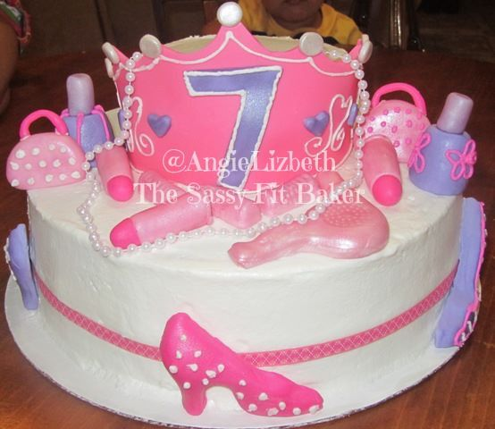 6 7th Birthday Cakes For Girls Photo Twins 7th Birthday Cake 7th