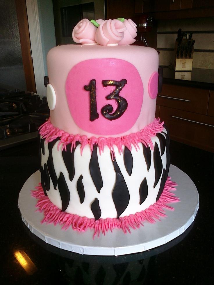 13 Happy 13th Birthday Cakes Photo Happy 13th Birthday Cake Happy