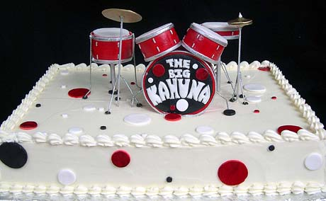 Happy Birthday Cake Drum Set