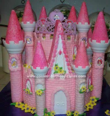 12 Wilton Castle Cakes For Girls Photo Princess Castle Cake