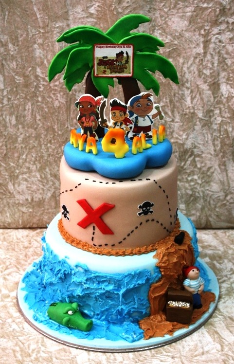 11 Jack And The Neverland Pirates Cakes Photo Jack And Neverland