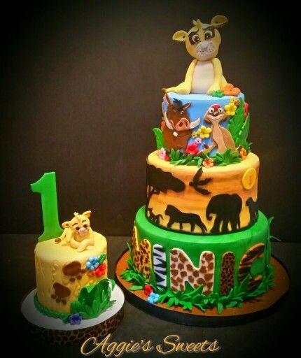 Baby Simba Birthday Cakes