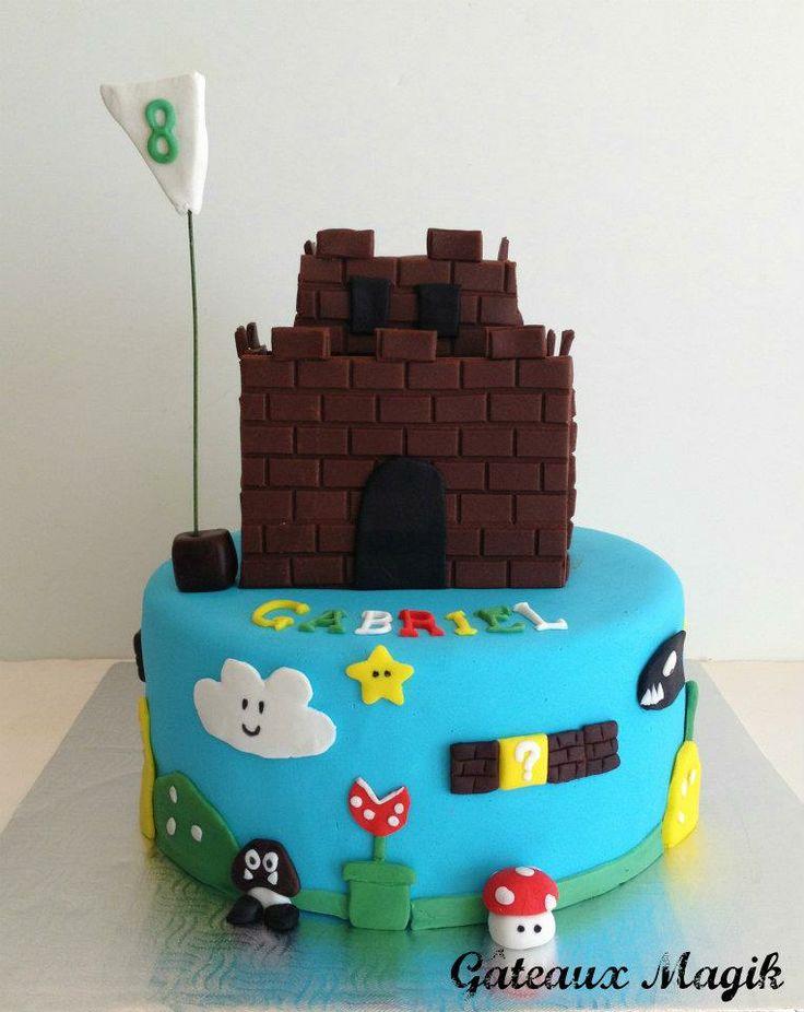 11 Mario Princess Castle Cakes Photo Super Princess Peach and