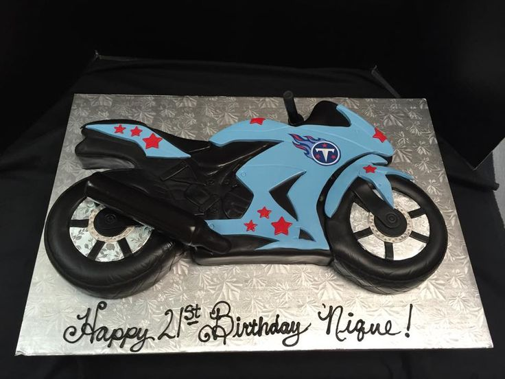 8 Chopper Motorcycles Cakes Pic Photo Harley Davidson Motorcycle