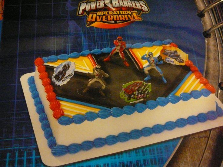 Cool 9 Power Ranger Birthday Sheet Cakes Photo Power Ranger Megaforce Funny Birthday Cards Online Inifodamsfinfo
